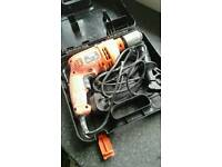 500w Black and Decker drill. Used