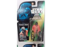 Star wars carded figures x 10 power of the force. Freeze frames. Mint.
