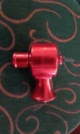 Red Bailey Motor Sport DV34 Single Piston Venturi Dumpvalve