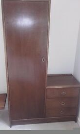 Solid wood Combination Wardrobe and drawer unit