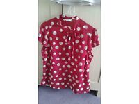 Smart M & S top worn once size 16