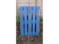 Wooden pallet,used, good condition