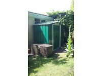 Brand new green 6'x4' Metal shed