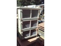 3 tier rabbit / guinea pig hutch / breeding stack