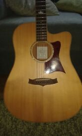 Tanglewood TW115 ss ce electro acoustic guitar.