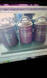 Purple Tea, Coffee & Sugar