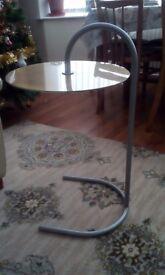 Scandinavian slide under table