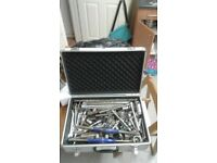 Tool sets and metal case