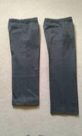 M&S School grey school trousers age 12 years