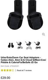 Mama's and Papa's car seat adaptors