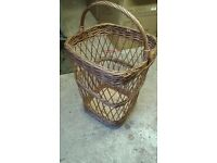 Large Wicker Laundry Basket