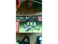 New ryobi cordless grinder with 4ah battery charger boxed untouched
