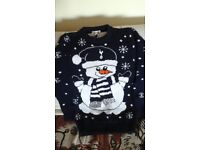 Spurs Tottenham Kids 9-10 xmas jumper excellent used condition