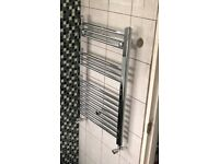 Bathroom Chrome Towel Radiator