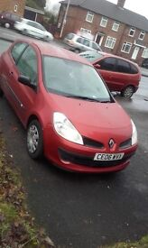Renault clio 2006 campus cheap (not audi,bmw,vauxhall,saab,ford,seat,toyota,vw)