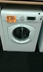HOTPOINT WHITE 7KG LOAD 1400 SPIN DIGITAL SCREEN WASHING MACHINE