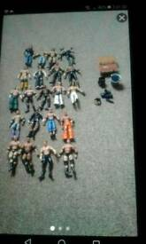BUILD AND BRAWL WRESTLERS /ACCESSORIES