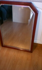 VINTAGE MIRROR 24 x 34 inches approx