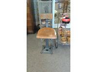 Original Singer machinest stool