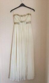 Designer Pia Michi Evening Gown