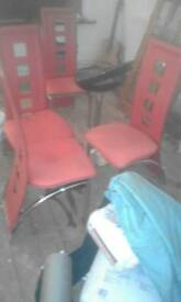 kitchen table chairs 4 with stool
