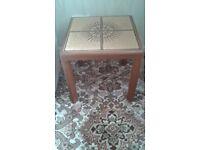 G Plan Sunburst Tiled Coffee Table