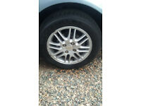 Alloy Wheel and Tyre for Ford Focus LX WANTED, Most be in good condition, Tyre and Rim