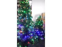 Fibre optic Xmas tree's