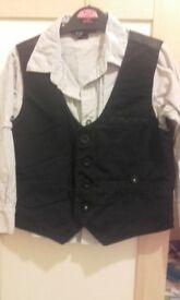 next shirt and waist coat 2-3years