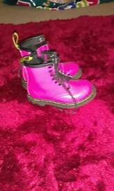 Kids pink doc martens official from schuh.