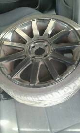 St wheels fiesta st alloy wheels