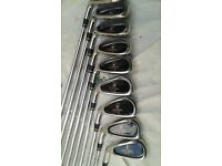 Left Handed Integra R1 Golf Irons ( 3-SW ) 9 Irons. Look and Play Like Callaway Big Bertha's