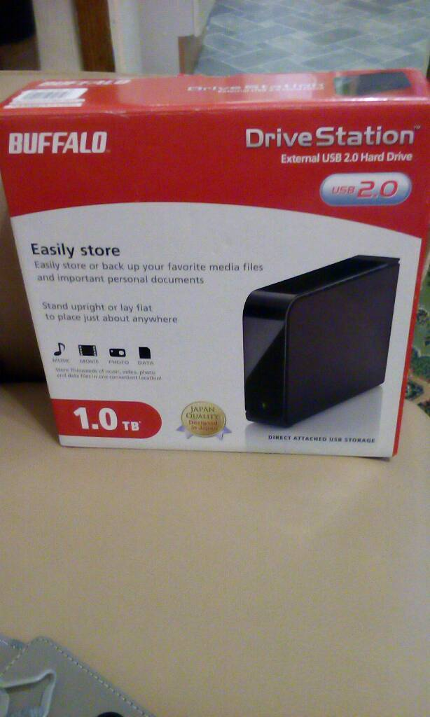 Drive stationin Stoke on Trent, StaffordshireGumtree - Buffalo 1.0 drive station .external USB 2.0 hard drive .brand new