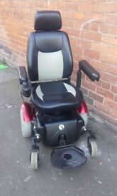 Reduced. Electricity Mobility 327 Powerchair