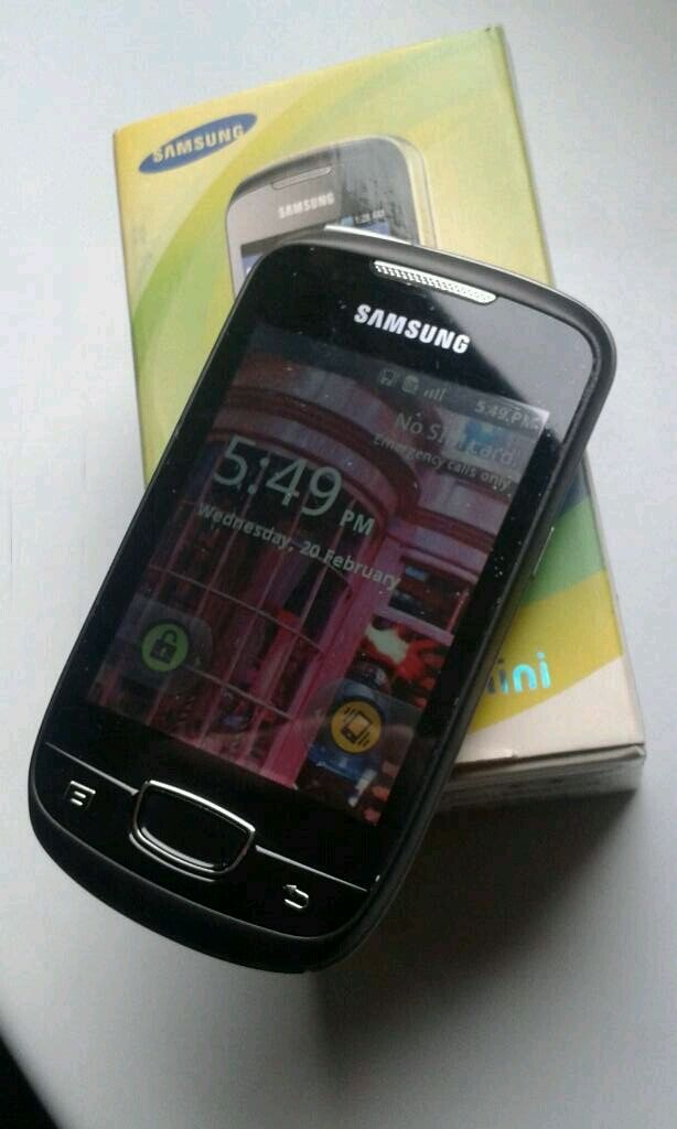 (UNLOCKED&BOXED) SAMSUNG GALAXY MINI android touchscreen smartphone mobile phonein Kingston, LondonGumtree - One careful owner. Great little phone that served me well. Battery still going strong. Comes with the original box and accessories