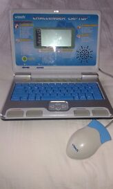 Blue Vtech challenger laptop used but VGC suitable for ages 3-5