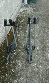 Bike rack roof fixings
