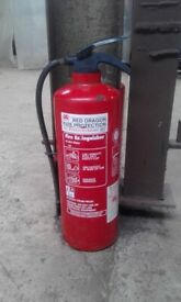 RED DRAGON FIRE EXTINGUISHER