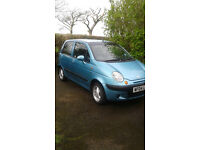 Daewoo Matiz SE 1L MOT until April 2018