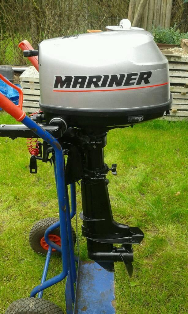 Mariner 5hp 4stroke outboard motor