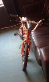 "X rated dekka boys 20"" bmx bike"