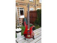 Dean DB95 5 string bass guitar