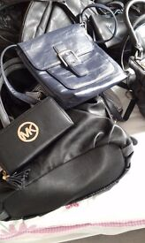 Handbags by next plus others leather an faux leather.
