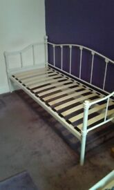Single Day Bed Metal Frame