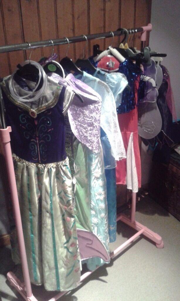 Bundle girls fancy dress clothes age 5-7