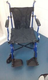 Wheelchair lightweight and Carry case.