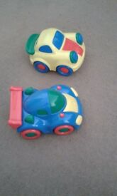 Two Toy Cars