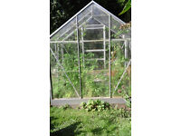 Aluminium Greenhouse with glass