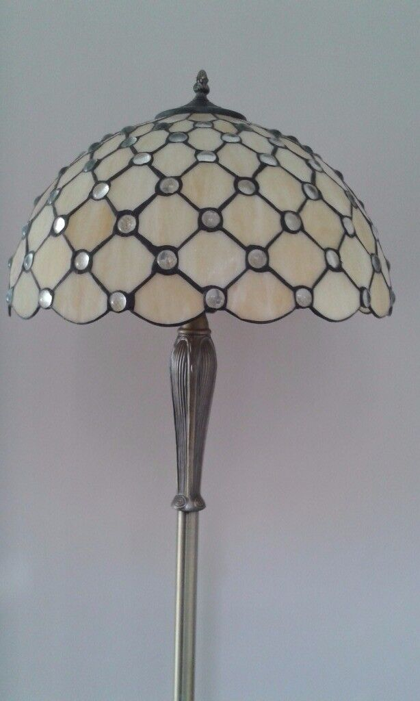 Tiffany Floor Lamp by Oaks Lighting. Beautiful condition. Bargain at £65.