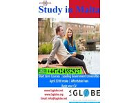 STUDY IN UNIVERSITY OF MALTA- SHORT/LONG TERM COURSES! NO VISA NO FEES
